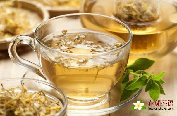 金银花绿茶 清热解毒花茶的泡法