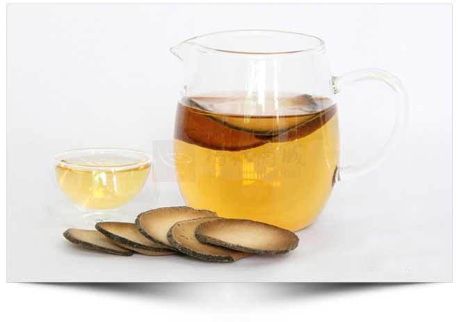 化橘红是一款很好的养生茶。