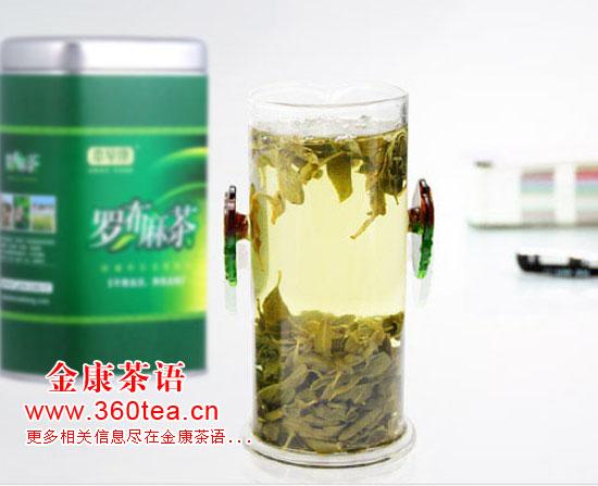纯野生新疆罗布麻茶茶汤 降压圣品